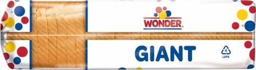 Wonder Giant White Sandwich Bread Perspective: left