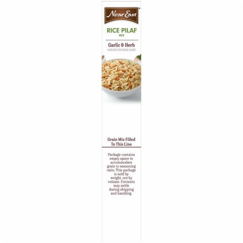 Near East® Garlic & Herb Rice Pilaf Mix Perspective: left