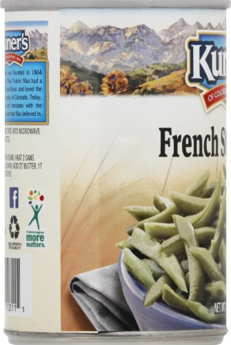 Kuner's Premium Sliced French Style Beans Perspective: left