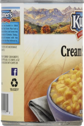 Kuners Premium Golden Sweet Cream Style Corn Perspective: left