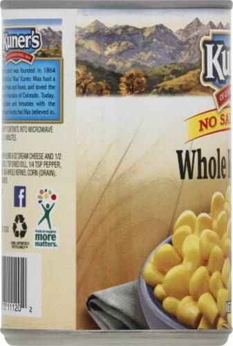 Kuner's No Salt Added Whole Kernel Corn Perspective: left