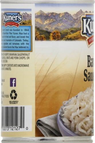 Kuner's Mild Bavarian Sauerkraut Perspective: left
