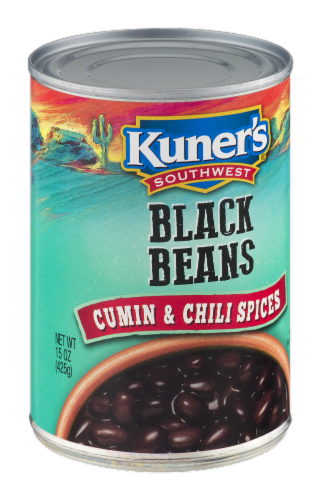 Kuner's Southwest Cumin and Chili Spices Black Beans Perspective: left