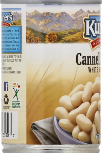 Kuner's Cannellini White Kidney Beans Perspective: left
