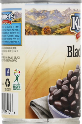 Kuner's Black Beans Perspective: left