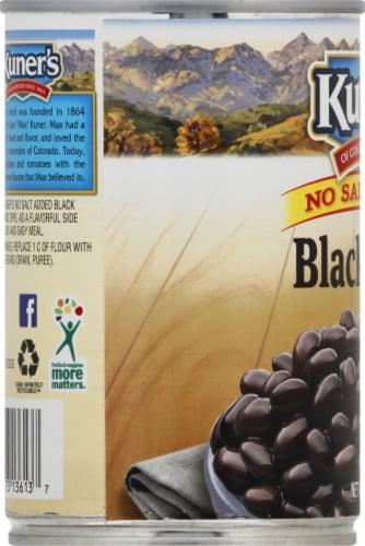 Kuner's No Salt Added Black Beans Perspective: left