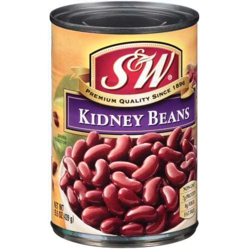 S&W Premium Kidney Beans Perspective: left