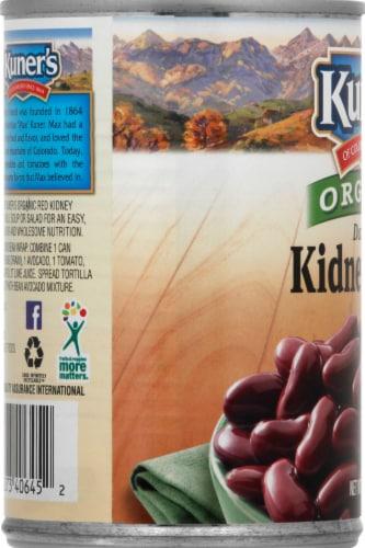 Kuner's Organic Red Kidney Beans Perspective: left