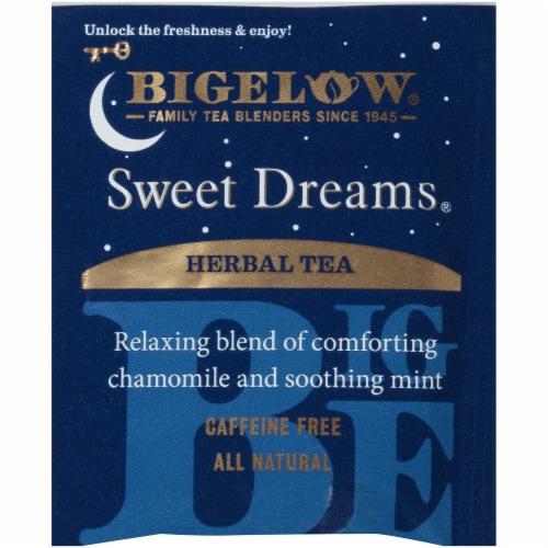 Bigelow Sweet Dreams Herbal Tea Perspective: left