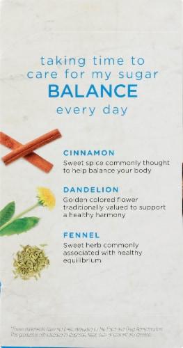 Bigelow Benefits Cinnamon & Blackberry Herbal Tea Bags Perspective: left