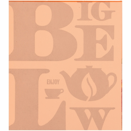 Bigelow Ginger Peach Turmeric Herbal Tea Bags Perspective: left