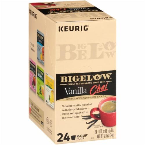 Bigelow Vanilla Chai Black Tea K-Cup® Pods Perspective: left