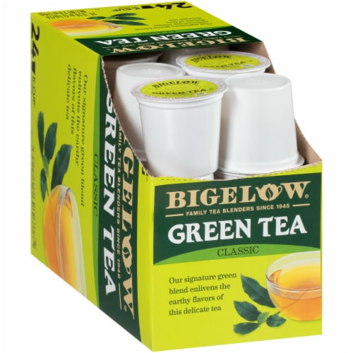 Bigelow Classic Green Tea K-Cup® Pods Perspective: left