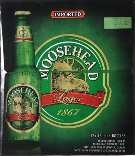 Moosehead Beer Perspective: left