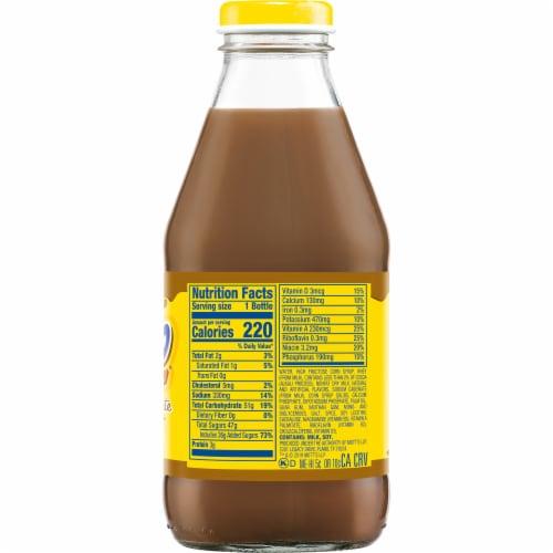 Yoo-hoo Chocolate Drink Perspective: left
