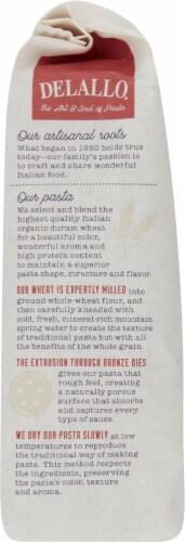 DeLallo Organic Whole Wheat Pasta Shells No 91 Perspective: left