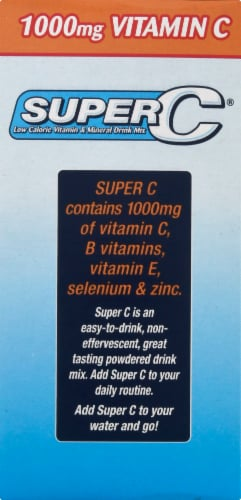 Super C Singles to Go Drink Mix Variety Pack Perspective: left