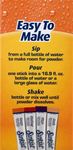 Sunkist® Zero Sugar Drink Mix Variety Pack Perspective: left