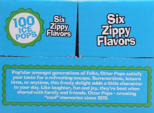 Otter Pops Original Ice Pops Perspective: left