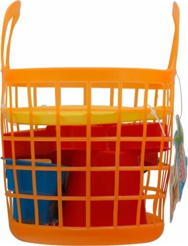 Amloid Beach Toys Basket Perspective: left
