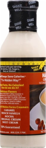 Walden Farms Hazelnut Calorie Free Coffee Creamer Perspective: left