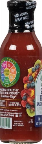 Walden Farms Calorie Free Super Fruits Balsamic Vinaigrette Dressing Perspective: left
