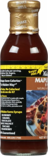 Walden Farms Maple Bacon Syrup Perspective: left