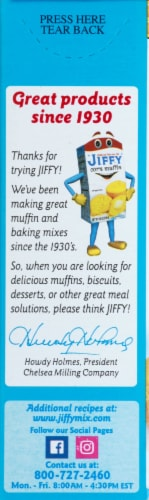 Jiffy Honey Corn Muffin Mix Perspective: left