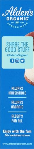 Alden's Organic Vanilla Bean Ice Cream Sandwiches Perspective: left