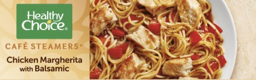 Healthy Choice Cafe Steamers Chicken Margherita with Balsamic Frozen Meal Perspective: left