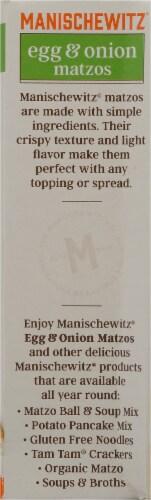 Manischewitz Egg & Onion Matzos Perspective: left