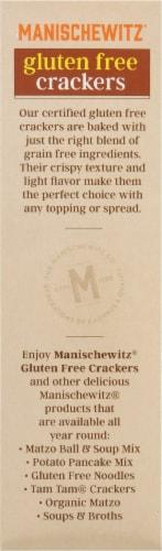 Manischewitz Gluten Free Crackers Perspective: left