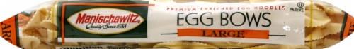 Manischewitz® Large Egg Bows Noodles Perspective: left