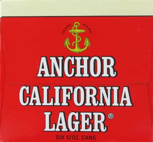 Anchor California lager Perspective: left