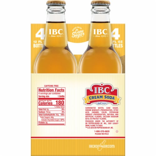 IBC Made with Sugar Cream Soda Perspective: left