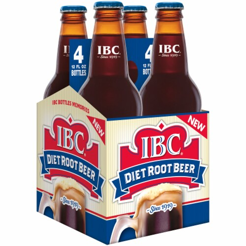 IBC Diet Root Beer Perspective: left