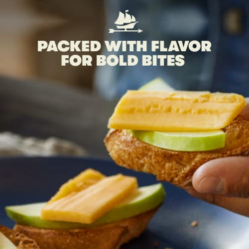 Tillamook Medium Cheddar Cheese Perspective: left