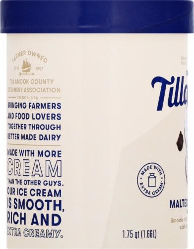 Tillamook Malted Moo Shake Ice Cream Perspective: left