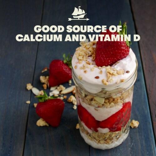 Tillamook Oregon Strawberry Lowfat Yogurt Perspective: left