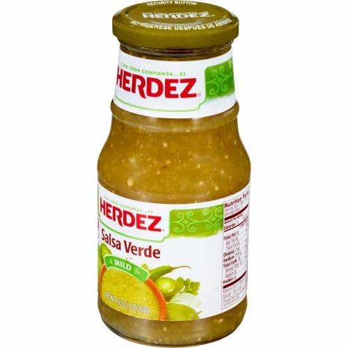 Herdez Mild Salsa Verde Perspective: left