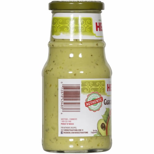 Herdez Medium Guacamole Salsa Perspective: left