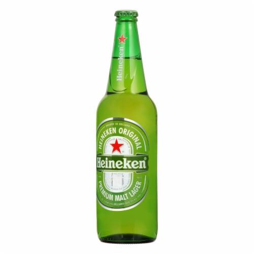 Heineken Premium Lager Beer Perspective: left