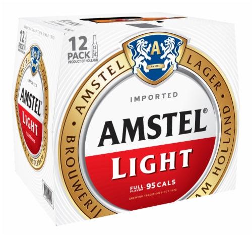 Amstel Light Beer 12 Pack Perspective: left