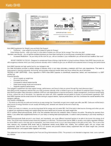 Advanced Keto Drops and Keto BHB Combo Pack Perspective: left