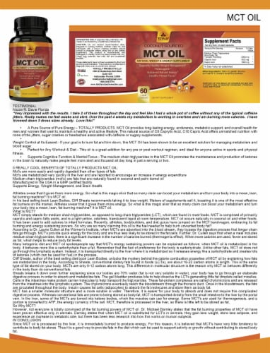 Totally Products Keto Slim BHB & Pure MCT Oil Combo Pack Perspective: left