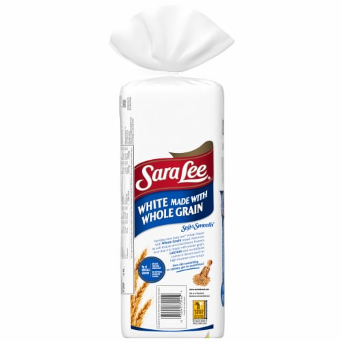 Sara Lee Soft & Smooth Whole Grain White Bread Perspective: left