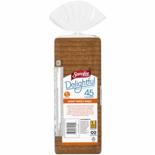 Sara Lee Delightful 100% Whole Wheat Bread Perspective: left