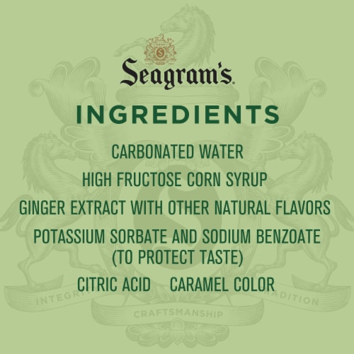 Seagram's Ginger Ale Perspective: left