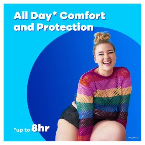 Tampax Pearl LeakGuard Protection Super Plus Absorbency Unscented Tampons Perspective: left