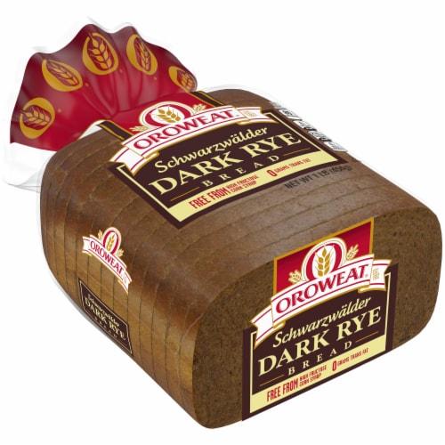 Oroweat Schwarzwalder Rye Bread Perspective: left